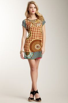 Larisa Tunic Mini Dress by Joyous & Free on @HauteLook