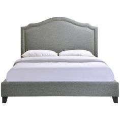 Charlotte Queen Bed Frame in Gray