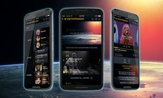 evenmoon.com - aplikacja webowa dla internetowej telewizji muzycznej, umożliwiającej użytkownikom tworzenie własnych kanałów i playlist