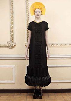 Monastic Futurism Fashion - Ria Keburia Revival Collection