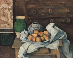 Still Life with Commode by Paul Cézanne