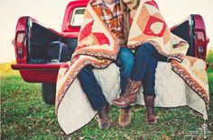 Essentials for Fall: boots, big blanket and hot date- Check!