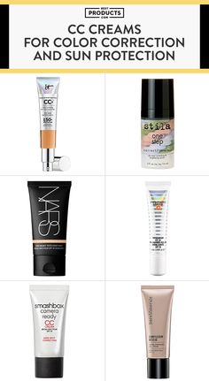 By now BB creams are so been there, blended that. For an advanced option in color correction, check out these CC creams that reduce redness and radiate skin's youthful glow by adding moisture and protection against harmful UV rays.