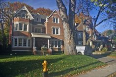 Part of Rosedale's charm comes from the huge trees that line the streets (photo: Dave Melnychuk)
