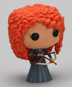 A soft and safe way to have a royally fun time is with this Disney-licensed Merida doll. With its vibrant vinyl construction and adorably oversize head, this doll will be the jewel in the crown of any toy collection.