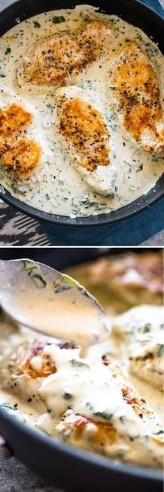 Creamy Parmesan Garl