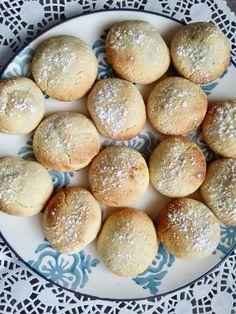 Petits gâteaux aux jaunes d'oeufs