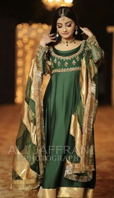 Brides sister wearing faiza saqlain on the mayun Pakistani Party Wear Dresses, Pakistani Wedding Outfits, Muslim Wedding Dresses, Pakistani Dress Design, Indian Dresses, Indian Outfits, Dresses Short, Dresses 2013, Pakistani Couture