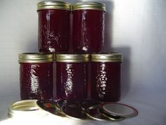 I first tried this recipe from the Complete Book of Small Batch Preserving when I discovered a red currant bush in our garden. We get so many berries from the bush that I freeze them And make this jelly all year round. My grandchildren dont want store-bought jam anymore!