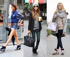 Wedge Sneakers Fall/Summer Fashion