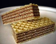 Jessica's yummy homemade recipes: Ukrainian Waffle cake with condensed milk