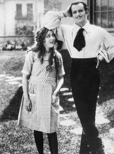 """Mary Pickford and Douglas Fairbanks Sr, the original Hollywood power couple."""