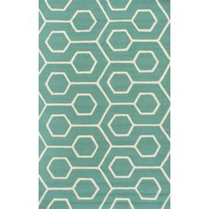 nuLOOM Air Libre Seafoam Charles Indoor/Outdoor Area Rug