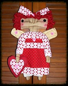 Raggedy Ann and Andy by Arlene MacAusland on Etsy