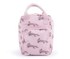 Backpack – Foxes – pink