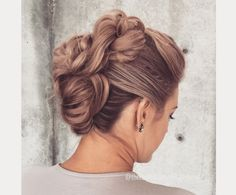 twisted faux hawk updo ~ we ❤ this! moncheriprom.com