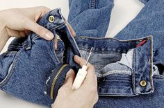 Replacing a broken zipper is a common mending task, and it's easier than you think, even if you have to shorten the zipper to make it work.