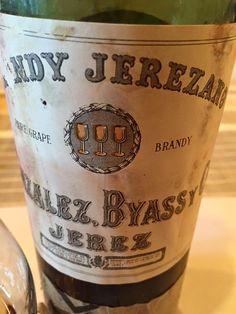 El Alma del Vino.: Brandy Jerezano González Byass en Casa de Castañón.
