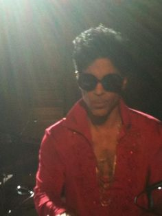 2011.11.08 Prince at the Versace for H&M launch party