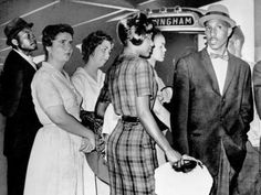 A group of Freedom Riders from Tennessee stands at the door of a Greyhound bus in Birmingham,Ala., waiting for a bus to leave for Montgomery on May (AP Photo/The Tennessean file) Tennessee State University, Freedom Riders, Today In History, Civil Rights Movement, African American History, 50th Anniversary, Human Rights, Black History, Mississippi