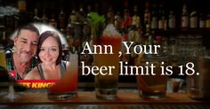What is your beer limit?