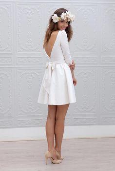 robe de mariée court