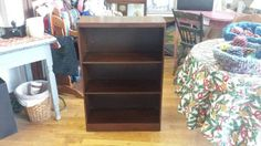 Used (normal wear) - Antique wood storage unit for sale. Great for any room in your home. Excellent condition. Measures 24 inches wide  by 9.5 inches deep  by 36 inches high.