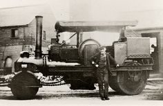 Young and Doggett Steam Engine, Rollers, Military Vehicles, Engineering, Trucks, Cars, History, Projects, Men