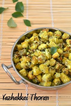 Thoran is a dry vegetable dish prepared with a variety of vegetables like beans, carrot, cabbage, beetroot etc. Whenever I get vazha...