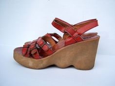Famolare Wedge Sandals - I thought I was so cool :P