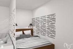Sypialnia styl Minimalistyczny - zdjęcie od ML Projekt - Sypialnia - Styl Minimalistyczny - ML Projekt
