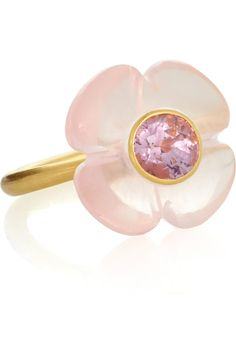 Marie-Hélène de Taillac flower ring