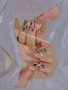 Chic Nails, Swag Nails, Green Nails, Nails Inspiration, Acrylic Nails, Manicure, Nail Designs, Nail Art, Hands