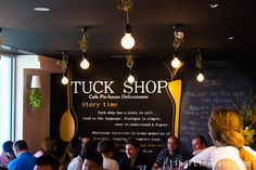 Tuck Shop Cafe,Pie-House and Delicatessen, Newcastle Street, Perth.