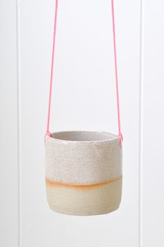 Hanging Planter - Pink by Koromiko