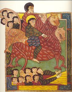 The Escorial Beatus, 10th century. http://www.pinterest.com/allthumbsstudio/art-miniatures/