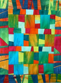 Image detail for -Moxey Musings: Hodgepodge Jumble Art Quilt