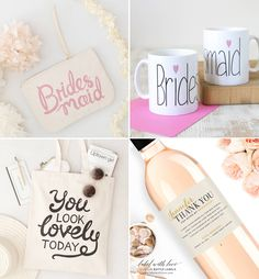 Cute bridesmaid gifts