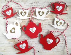 This would be fun to make or you could buy it here http://www.etsy.com/listing/114434849/christmas-decoration-bunting-garland?ref=correlated_featured