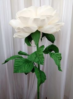 How to make giant bendable paper flowers stems reception how to make giant bendable paper flowers stems reception pinterest paper flowers diy giant flowers and tissue paper flowers mightylinksfo