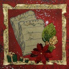 Weihnachtskarte für Danis Adventskalender http://danielarogall.de/danis-adventskalender-2014/ - Tür 9, Weihnachtskarte - Daniela Rogall