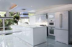 cozinha, eletrodoméstico de vidro, brastemp vitreous, eletros, vidros, branco, clean, moderno, luxo