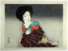 ca. 1916 - Itō Shinsui - A Cold Winter Wind