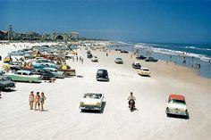 Deytona beach 1957