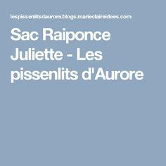 Sac Raiponce Juliette - Les pissenlits d'Aurore