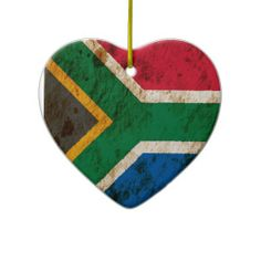 Shop Rugged South African Flag Ceramic Ornament created by JeffBartels. South Africa Art, South African Flag, Christmas Crafts For Kids To Make, Christmas Ornament Crafts, Ornaments, Toddler Crafts, Preschool Crafts, African Art For Kids, Africa Craft