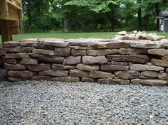 Building a Stone Wall with the pebles