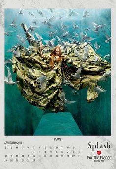 Splash Calendar 2016..:) model: Karina of MMG Models hair and makeup: Jojo Dantespadua photographer: Tejal Patni stylist: Furne Oné of Amato Couture