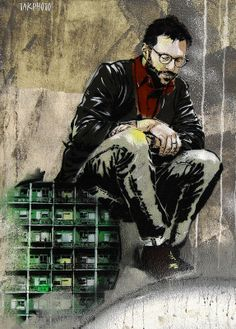Street art | Mural by Jana & JS