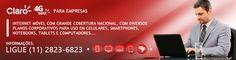 Claro 4G MAX para computador, Notebook e tablet. #claro  http://www.bigsolutions.com.br/internet-4g-da-claro-para-empresas